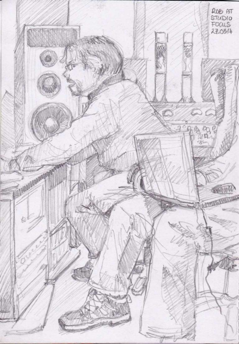 RECORDING THE RECORDING ENGINEER
